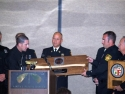 Fire Chief Dave Thomas Gets Honored