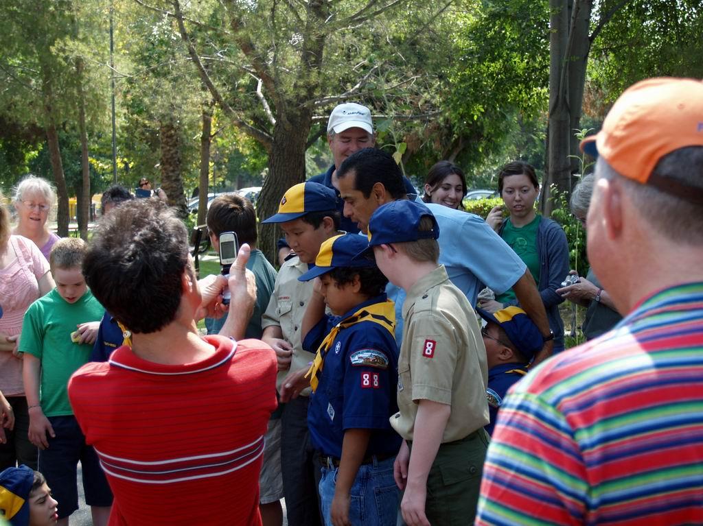 Mayor Cub Scout