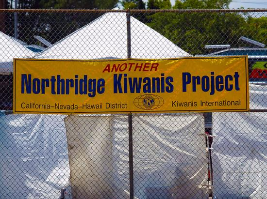 Another Northridge Kiwanis Project