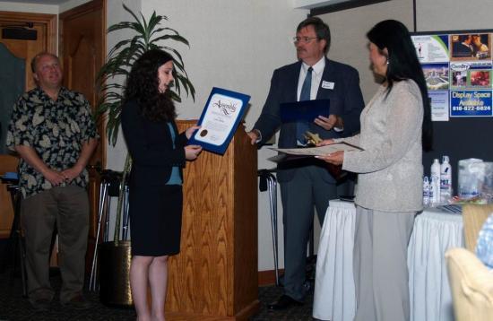 Educator Award Lyn Ikoma