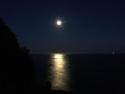 Santa Barbara Moon Ocean