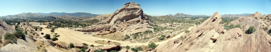 Vasquez Rocks Panoramic