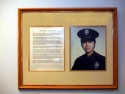Police Officer Plaque