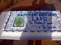 141th LAPD Birthday Cake  3