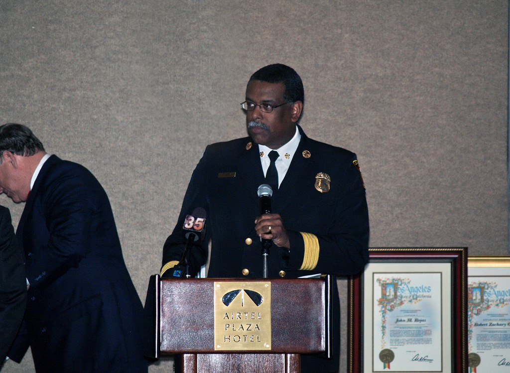Fire Chief Douglas Barry