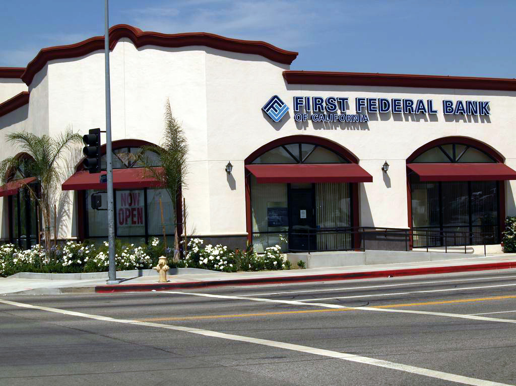 First Federal Bank of California Grand Opening  1