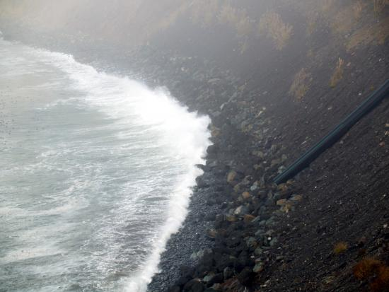 Big Sur Fog Shore Line