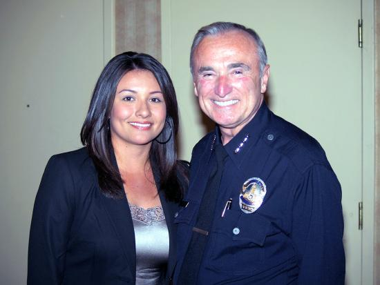 LAPD Police Chief Alexis Marin