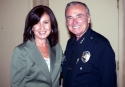 LAPD Police Chief and Cindy Varela