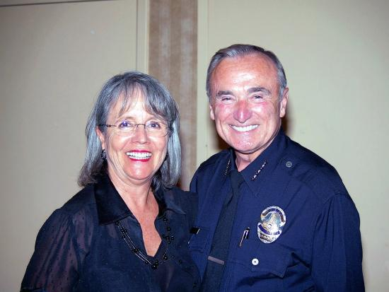 LAPD Police Chief and Dianne Kartiala