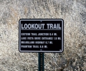 Lookout Trail Sign
