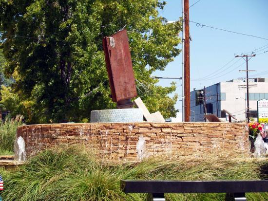 9/11 Memorial Fountain  4