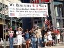 We Remember 9 11 Walk