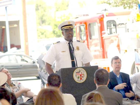 Fire Chief Douglas Barry  2