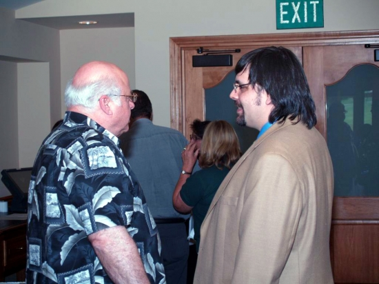 Networking, Franklin & Dr. Mike
