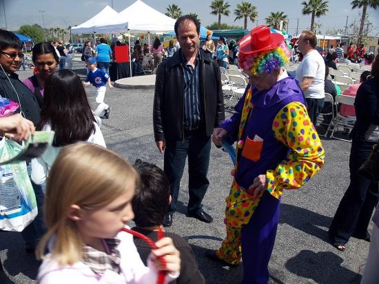 Balloon Clown  01