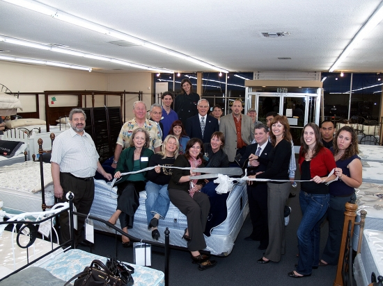 Beds Unlimited Canoga Ribbon Cutting  11