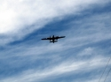 Bomber Fly By 1