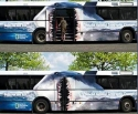 National Geographic Channel Bus Art