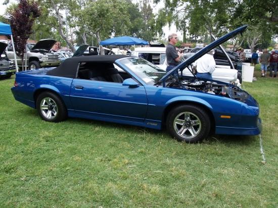 Camero 1989 Convertible  02