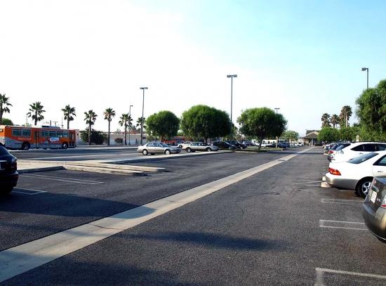 N. Parking Looking South  2