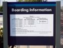 Train Boarding Information