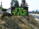 Extreeme Fire Hazard