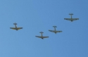 Flying Missing Man Formation  7