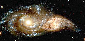 Glowering Eyes Nebula