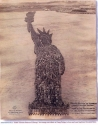 Human Stature Of Liberty