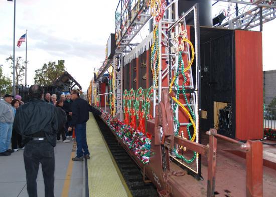 Inside Train Car