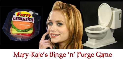 Mary-kate S Binge N Purge Game