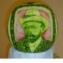 Melon Dude With A Hat