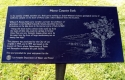 Mono County Park Plaque 