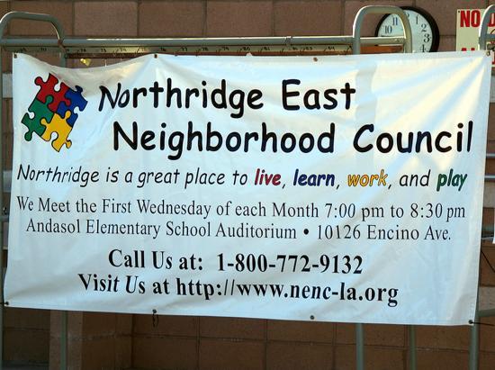 Northridge East Neighborhood Council  2