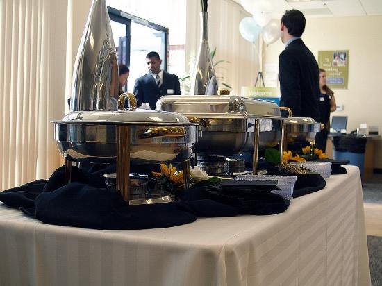 Chef David's Table Display