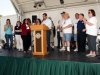 On Stage W/ Mayor & Councilmember   7
