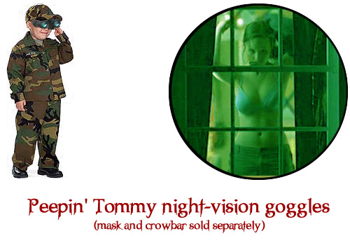 Peepin Tommy Night-vision Goggles