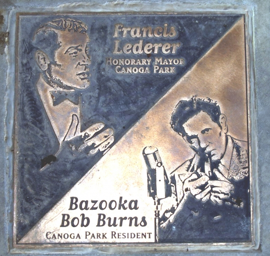 Francis Lederer, Bob Burns