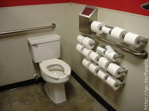 Politicians Toilet