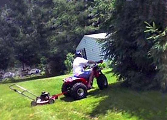 Redneck Riding Mower