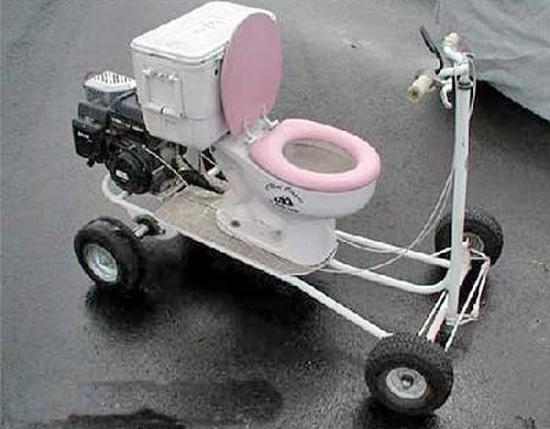 Redneck Senior Scooter