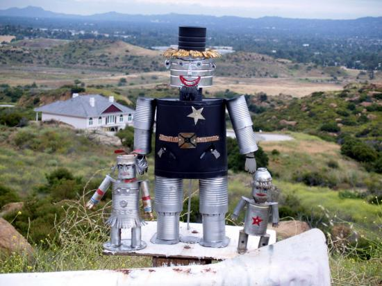 Robots Planes And Mountain Art 19