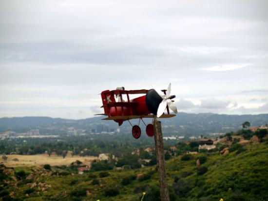 Robots Planes And Mountain Art 17