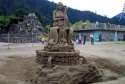Sand Sculpiture Fountain