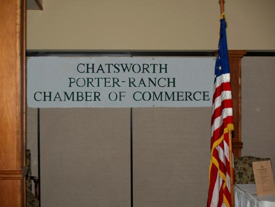 Chatsworth Porter Ranch Chamber Banner