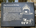 The Covered Bridge Plaque