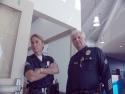 SGT. MARTIN C. FENTRESS & Officer III+1 Zumsteg