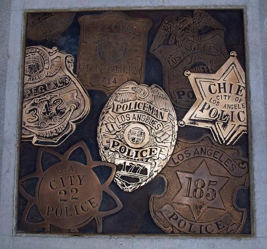 Los Angeles Police Badges