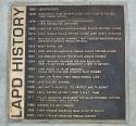 LAPD History Plaque